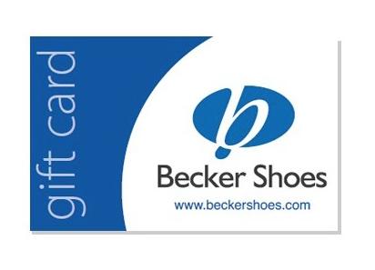 Becker Shoes Gift Card