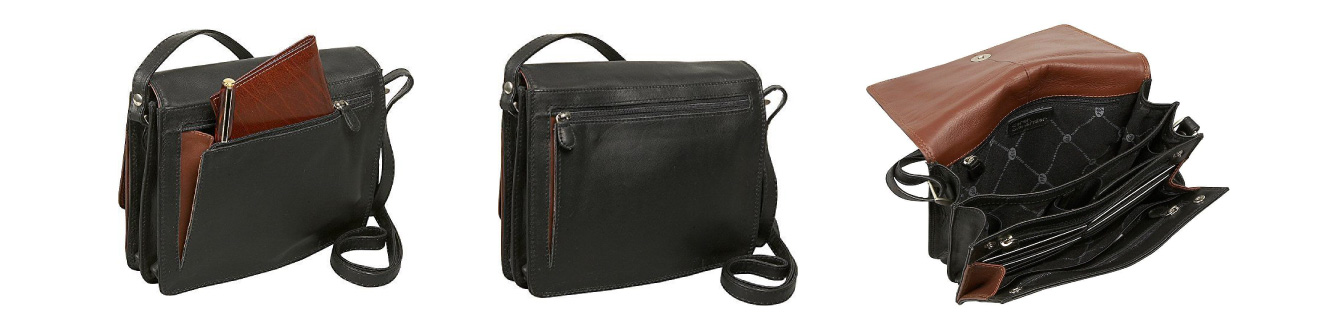 Derek Alexander Three Quarter Flap Bag