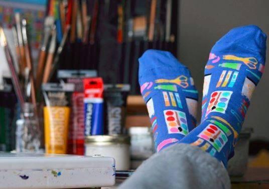 HotSox Art Supplies Socks