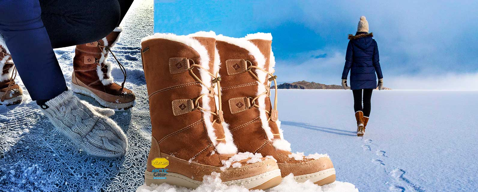 3f0cb3b2e5e7b Best Winter Boots for Traction – Featuring Arctic Grip™ — Becker Shoes